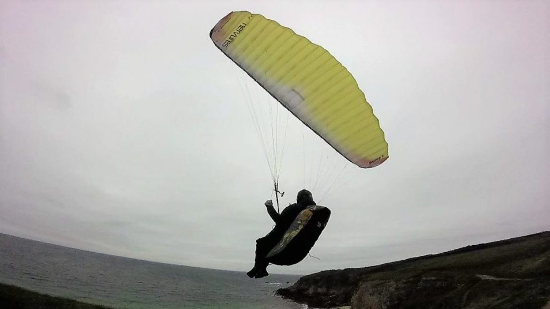 Tests de voiles dans le vent fort : la NERVURES Swoop 2 16 m²