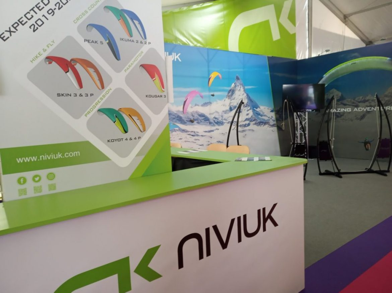 Icare Expo : de nombreuses nouveautés sur le stand NIVIUK