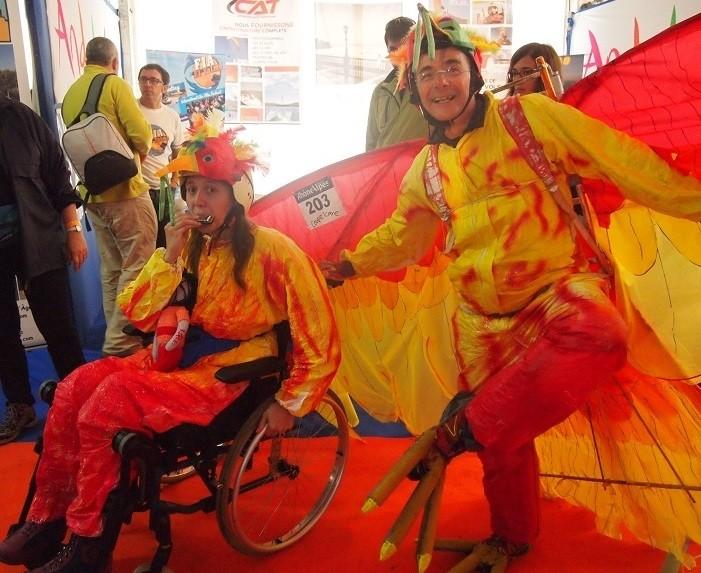 Le concours Icarnaval de la Coupe Icare, aux premières loges du déco