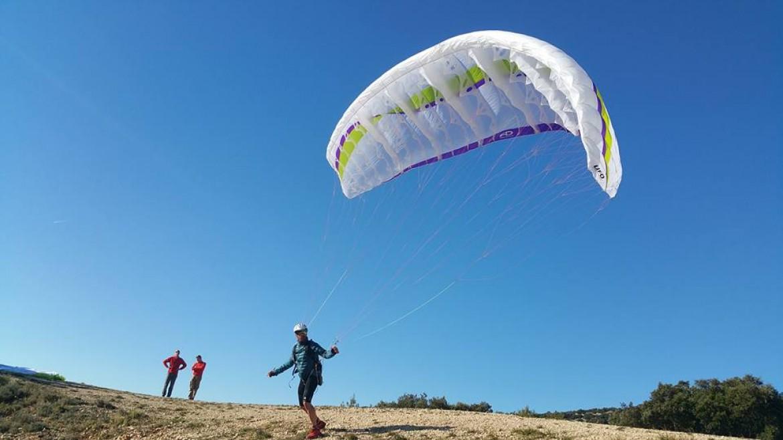 Défi d'Olivier à Signes : 10 montées avec UFO (dénivelé 4000m)