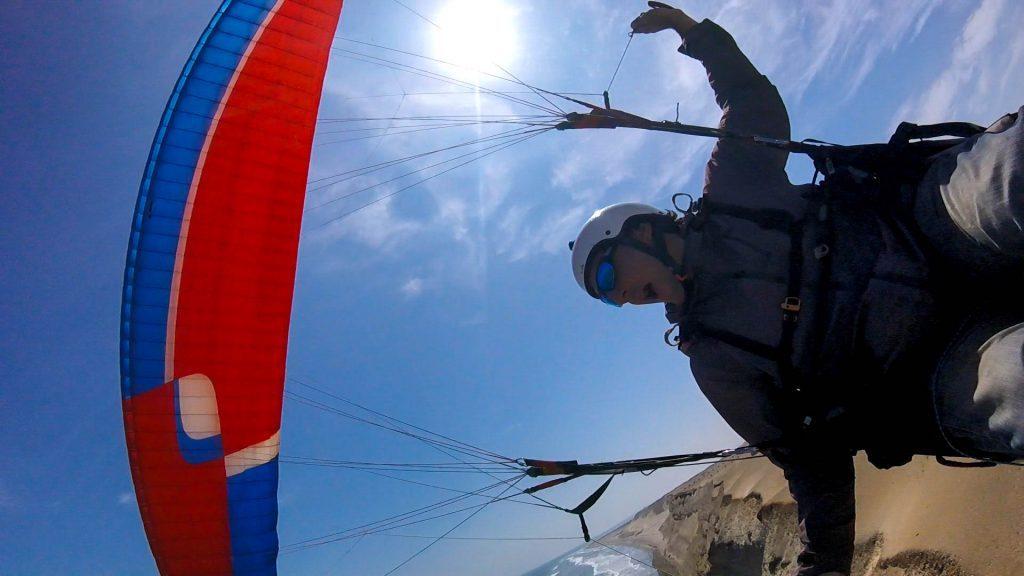 Soaring parapente à Pacasmayo au Pérou avec Mat Eiaga