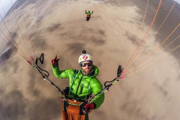 The Paragliding Line, traversée du désert d'Atacama (Chili)