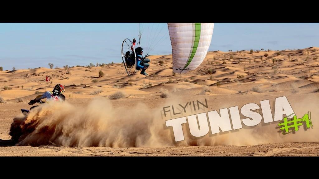 Paramoteur et quad sur les dunes tunisiennes avec Pascal Vallée