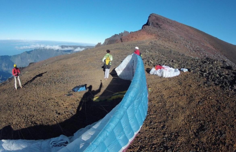 Partir voler en parapente à la Réunion