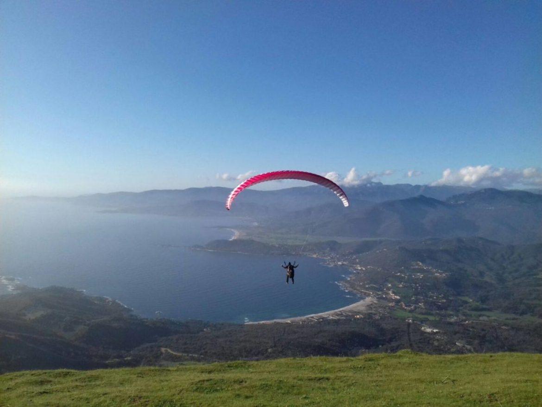 Stage parapente en Corse du sud avec Coccin'ailes