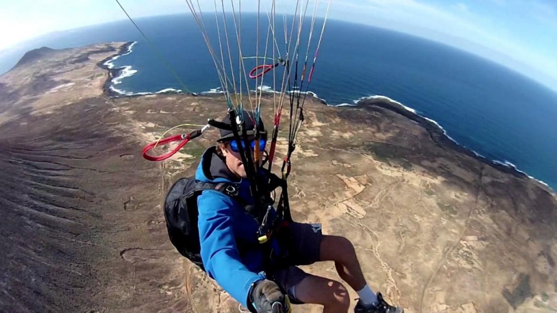 Parapente et surf aux Iles Canaries avec Martin Schircke