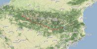 Record de distance dans les Pyrénées par Horacio et Felix : 237 km