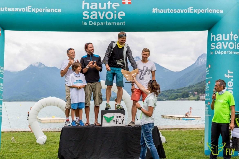 Podium et résumé de la compétition hike&fly Bornes to Fly 2017