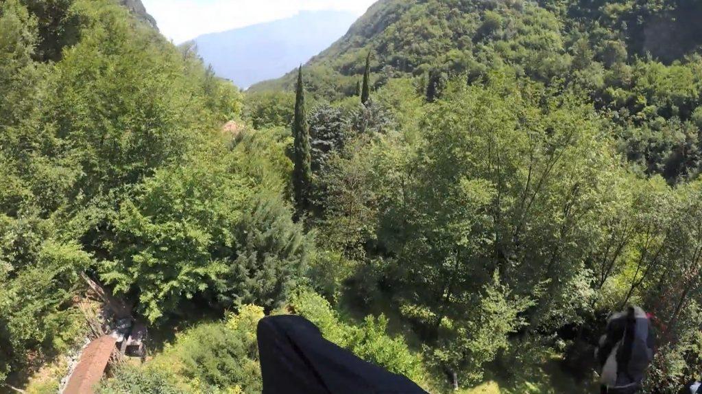 Compil des vols engagés de Gavin McClurg à la Red Bull X-Alps