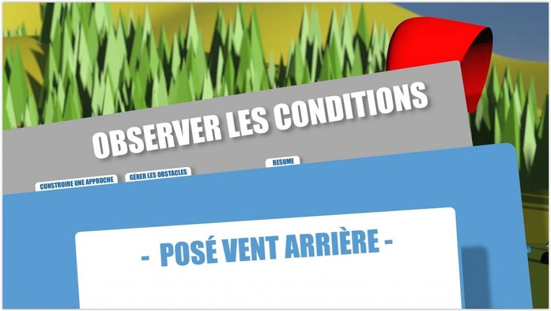 Conseils FFVL / Atterrissage : comment poser en vent arrière en parapente?