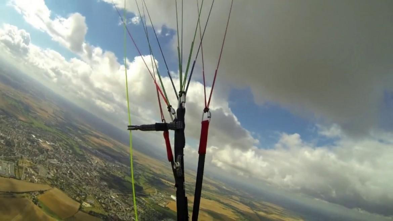 Premier cross en parapente de Philippe avec Plaine-Altitude