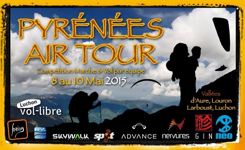 Pyrénées Air Tour, compétition Marche et vol 8-10 mai 2015