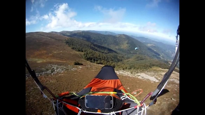 Rando vol parapente au Picou avec Jean Bailleux (Ariège)