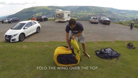 Conseils pour le pliage de votre aile perf avec structures rigides