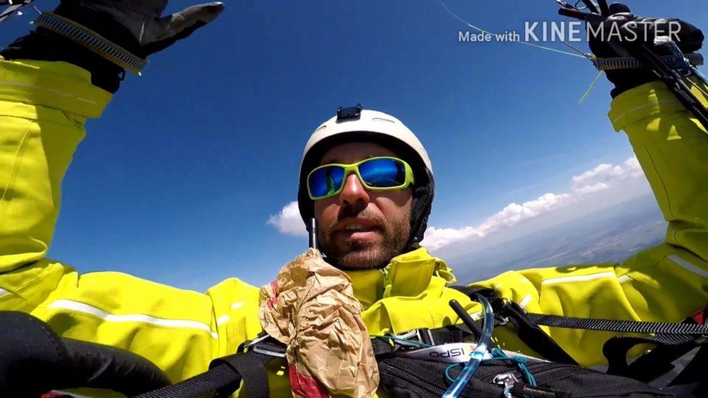 Record de distance du Massif Central au départ du massif du Pilat (42)
