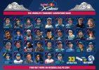 Les athlètes sélectionnés pour la Red Bull X-Alps 2021