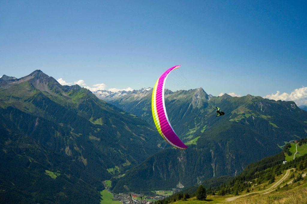 La nouveauté AirDesign dévoilée : la Rise 4, aile EN B+ agile et efficace