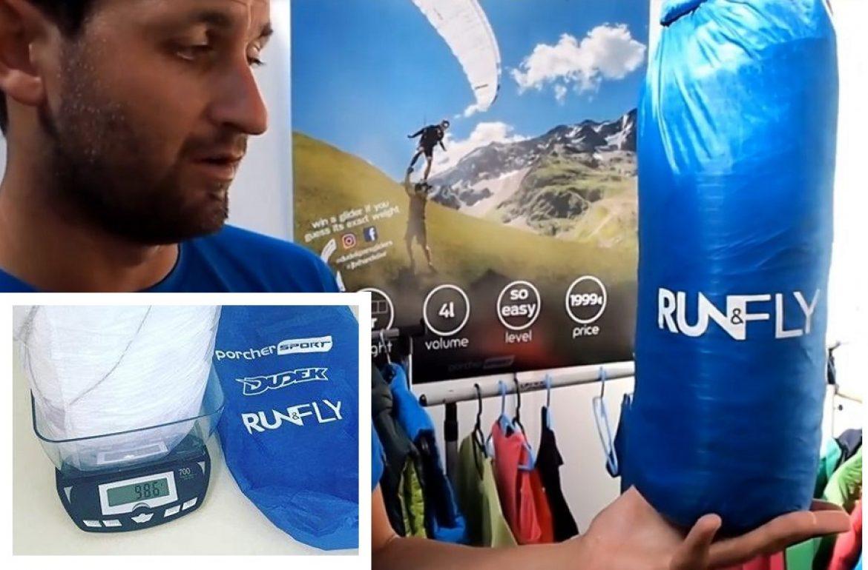 Run&Fly : la plus légère des mono-surfaces – conçue par JB Chandelier