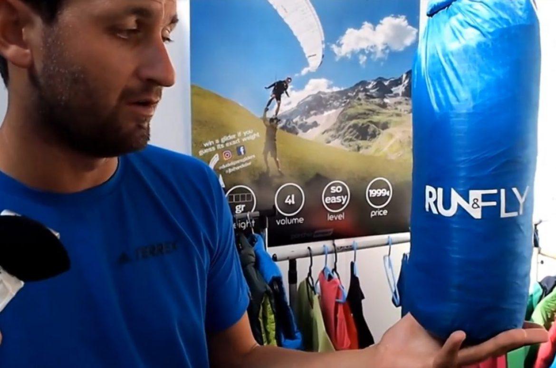 Run&Fly : la mono-surface la plus légère du marché conçue par JB Chandelier