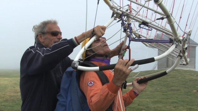 Session gonflage en cage de pilotage encadrée par Jean Louis Darlet