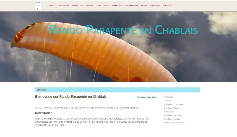 Tous les sites de rando parapente en Chablais (France et Suisse)