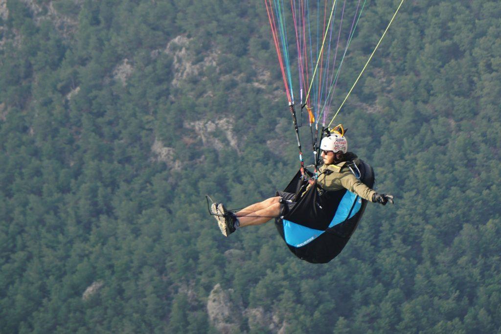 Essai de la sellette réversible Sky Paragliders Reverse 5 par Georges