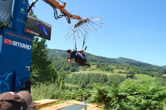 SMAPP, simulateur de décollage et d'atterrissage en parapente