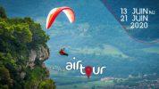 Airtour, compétition marche et vol dans les Alpes du 13 au 21 juin 2020
