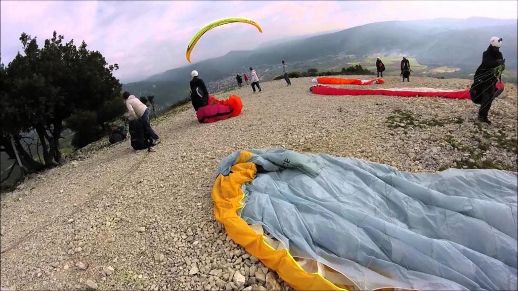 Stage d'initiation parapente avec l'école Marseille Parapente