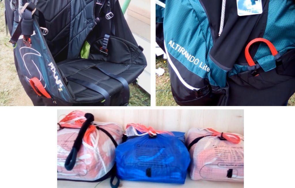 Nouveautés sellettes, parapentes et secours chez SUPAIR (Icare Expo)