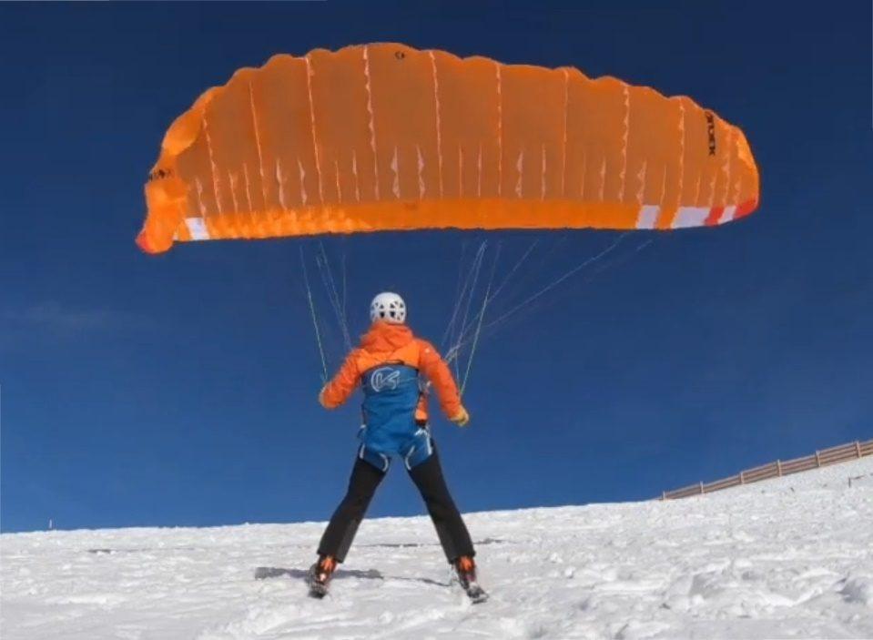 Tuto de Fabien Blanco : décoller dans du 35 km/h avec une mono-surface