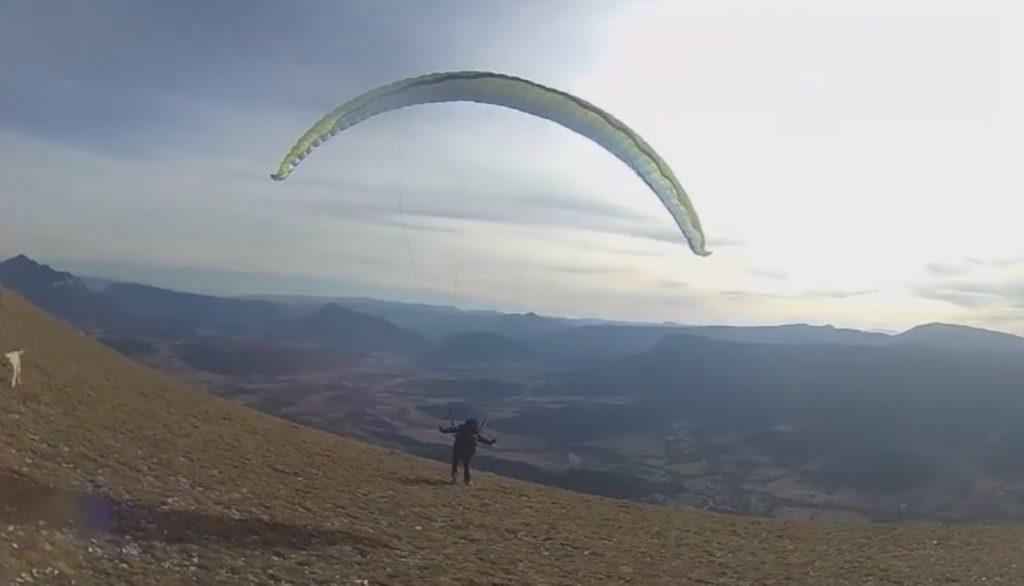 Test de la voile AIR DESIGN Rise 3 par Nicolas Garcin (EN B)