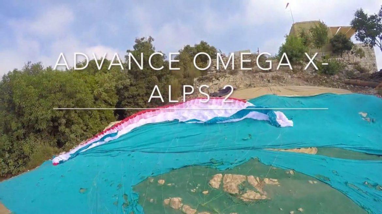 L'ADVANCE Omega XAlps 2 testée et comparée par Ziad Bassil