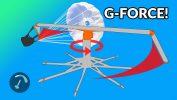 Tests d'extraction du secours sous G-Force trainer (par Matt Wilkes)