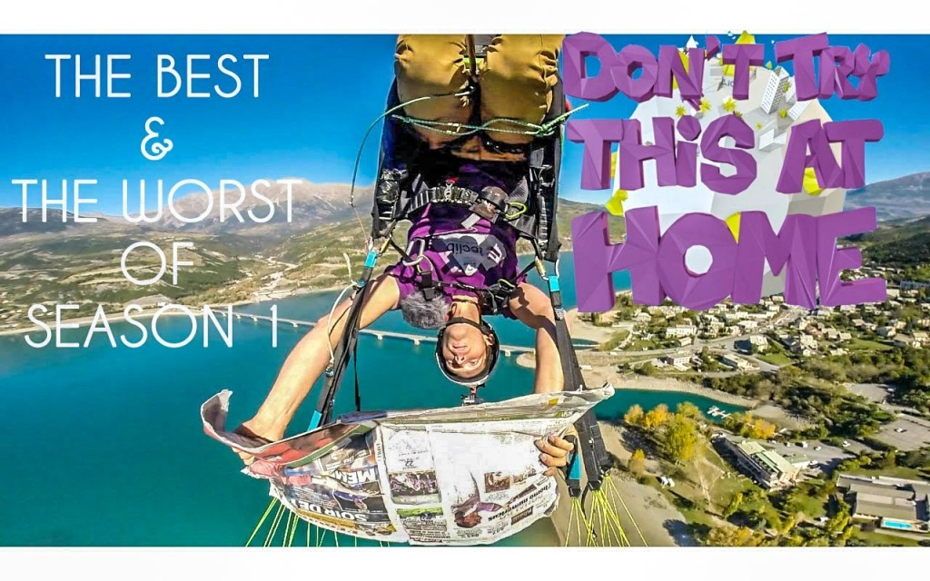 The best and worst of « Don't try this at home » (1 million de vues)