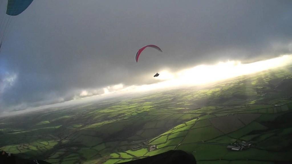 Thermiques sur la côte Nord du Devon – 74 km (Cornouaille)