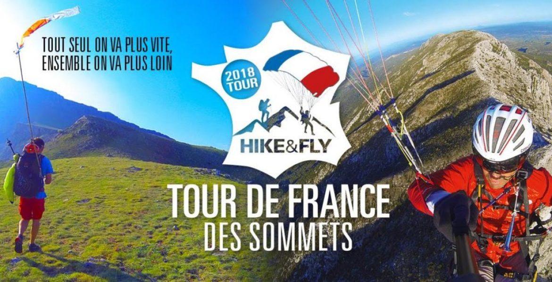 Participez au Tour de France des sommets en parapente