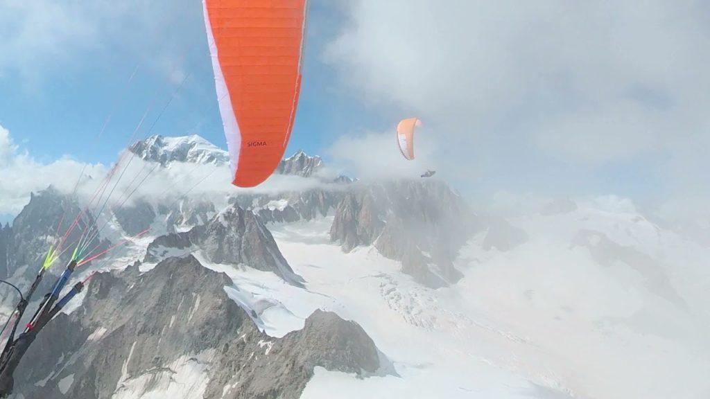 Tour du Mont Blanc en parapente avec Romain Beaugey