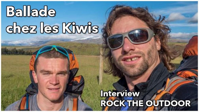 La traversée de la Nouvelle Zélande par Antoine Girard et Benoit Outters