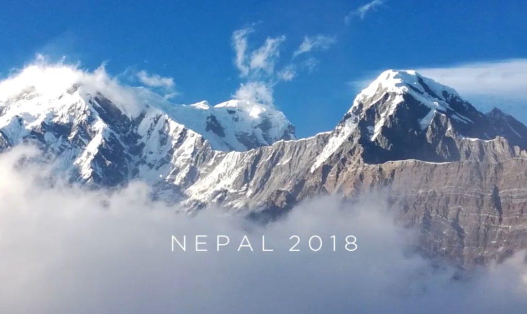 Le trip parapente de Vincent Pierré au Népal