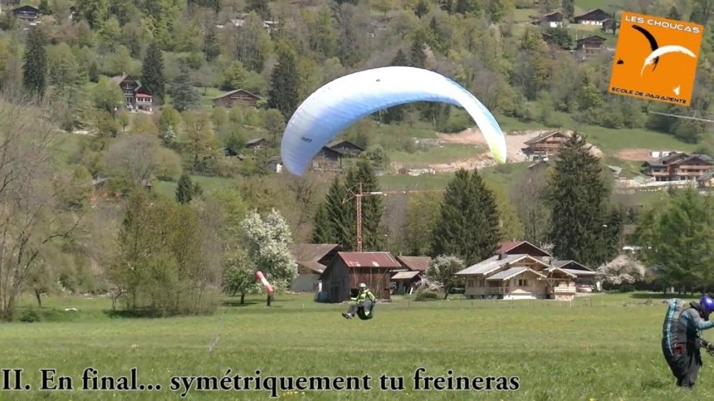 Tuto initiation parapente : les erreurs classiques à l'atterrissage