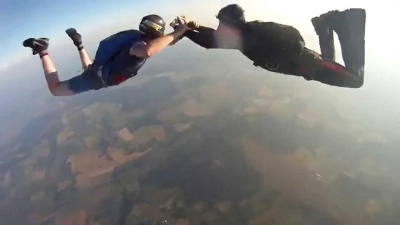 Une chute libre hypnotique de plus de 3000 m