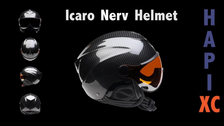 Une présentation du casque parapente ICARO Nerv