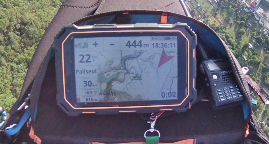 La tablette vario GPS Air³ présentée à Icare Expo