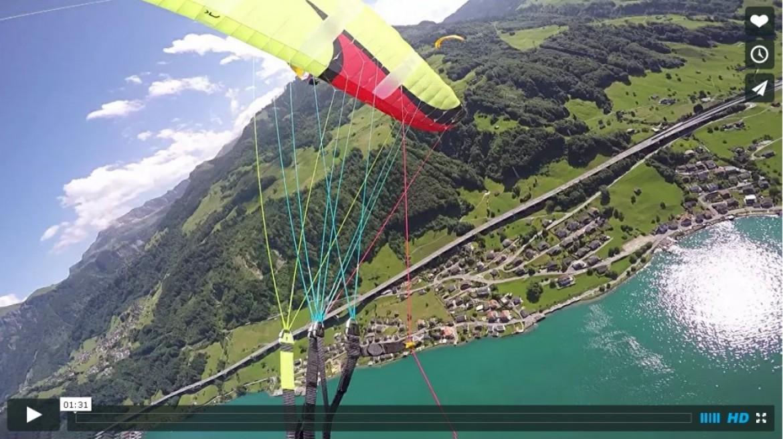 L'effet miroir du parachute de secours sans intervention du pilote