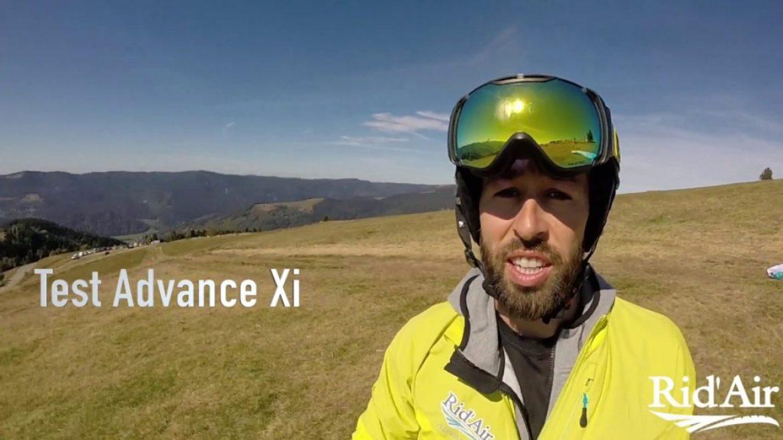 Vidéo test ADVANCE XI réalisée par Cyrille Mark (voile light EN B+)