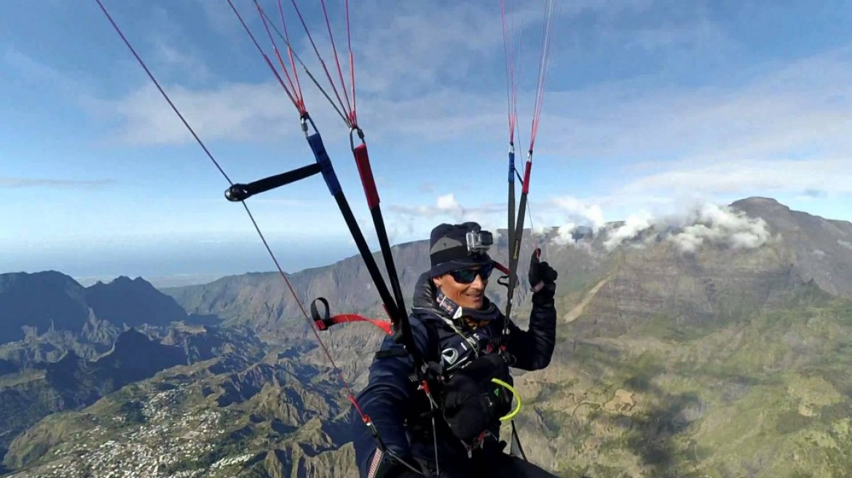 Vol rando et speedflying au Piton des Neiges – La Réunion