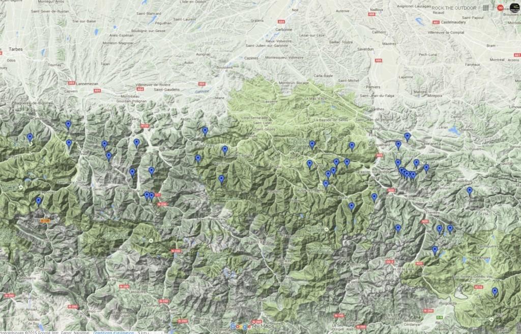 Recherchez des circuits de vols rando dans les Alpes et Pyrénées