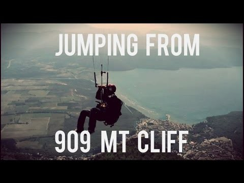 Vol record avec une aile de kite d'un dénivelé de 909 m