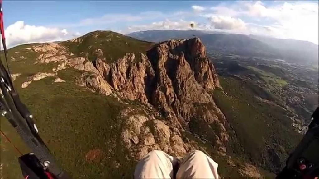 Vol site parapente Monte Gozzi (Corse)